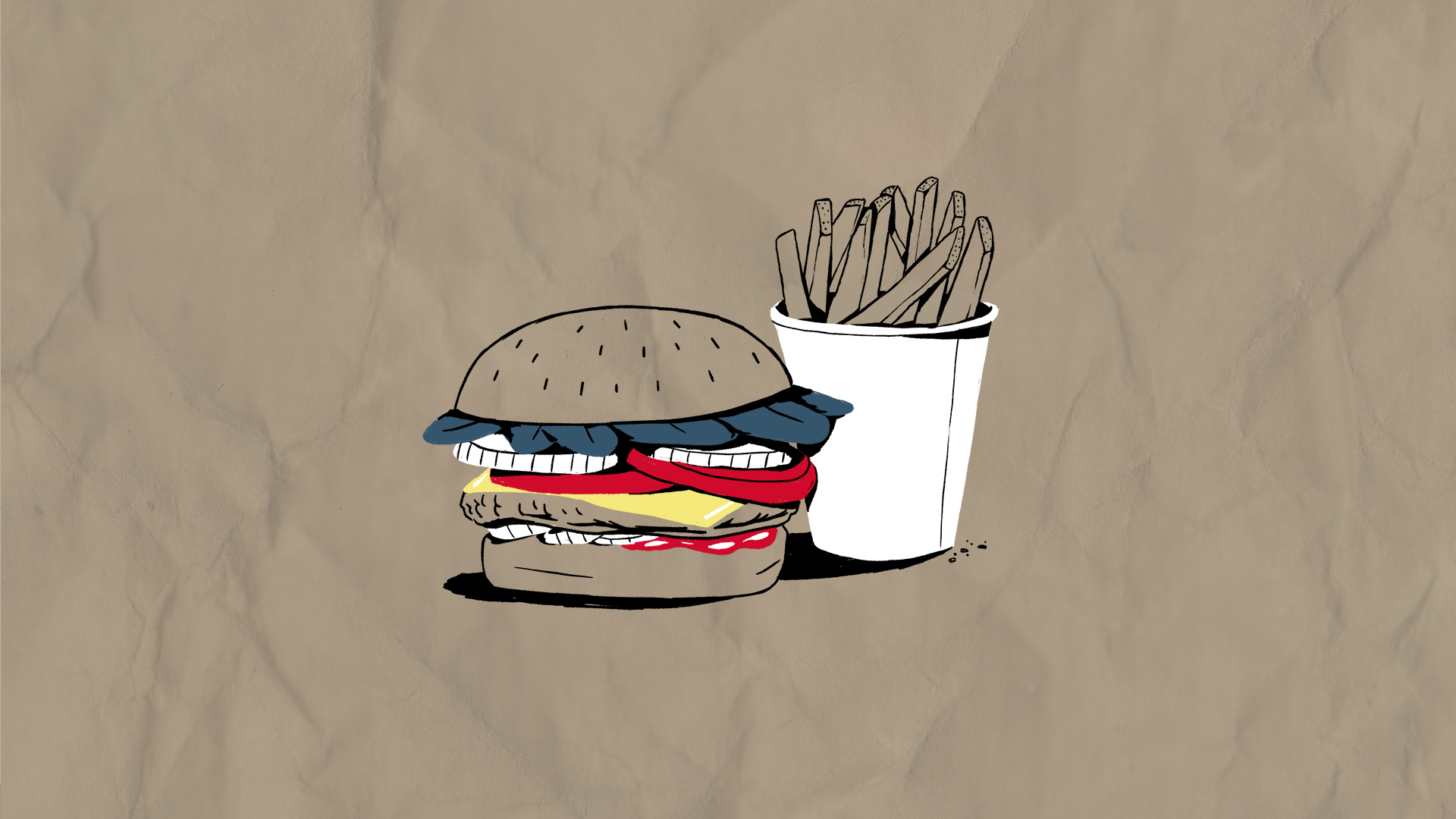All the Way Burger / Five Guys  Image