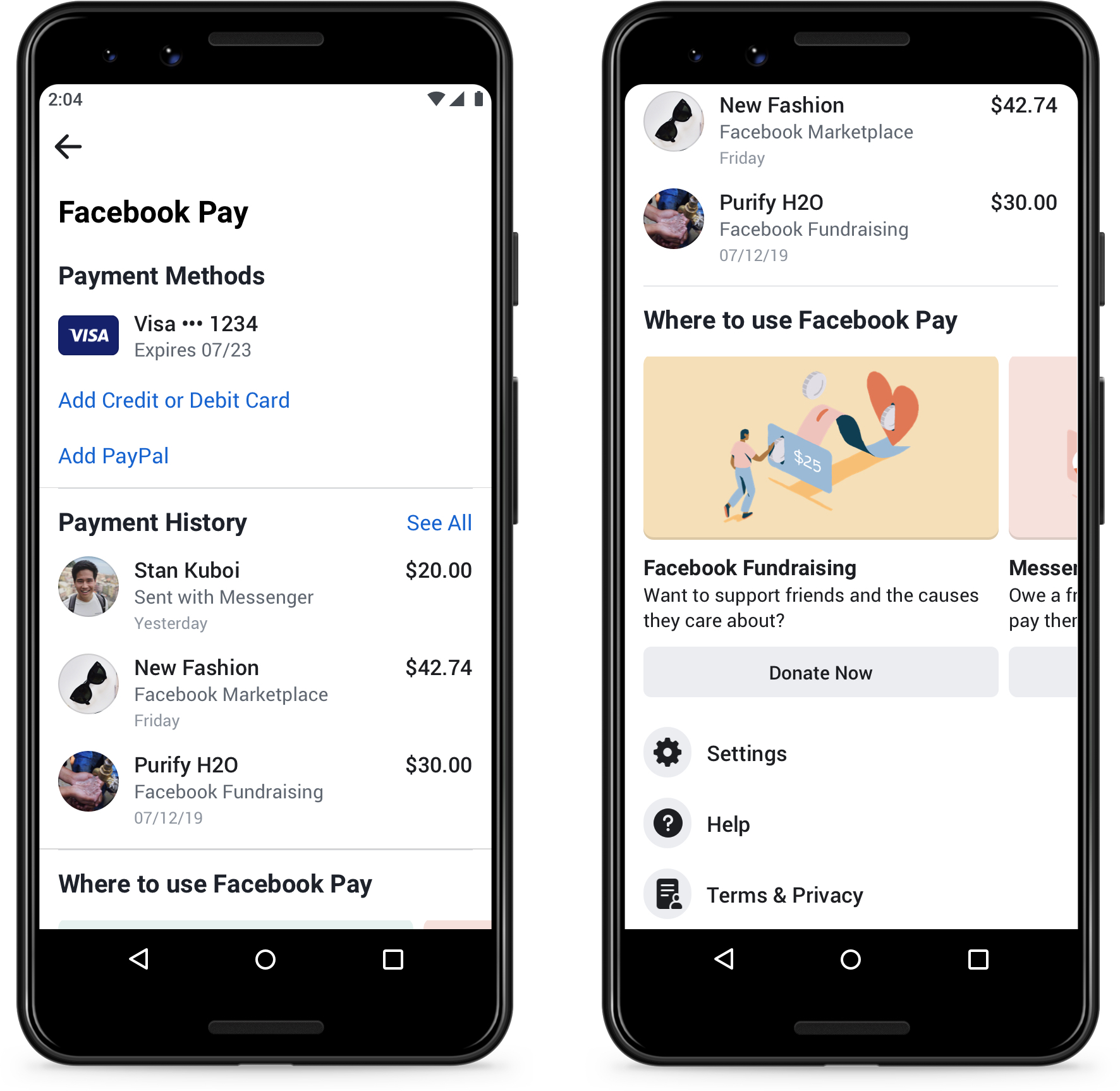 Facebook Pay / Facebook  Image