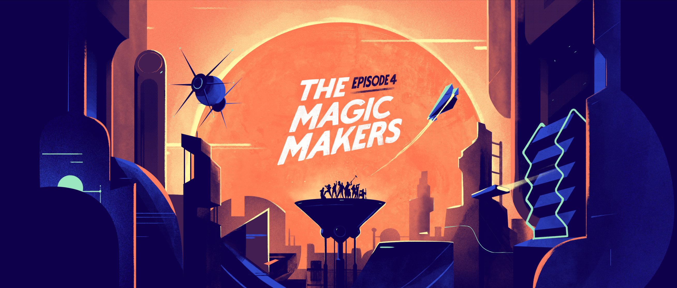 The Magic Makers / Andriod Docuseries  Image